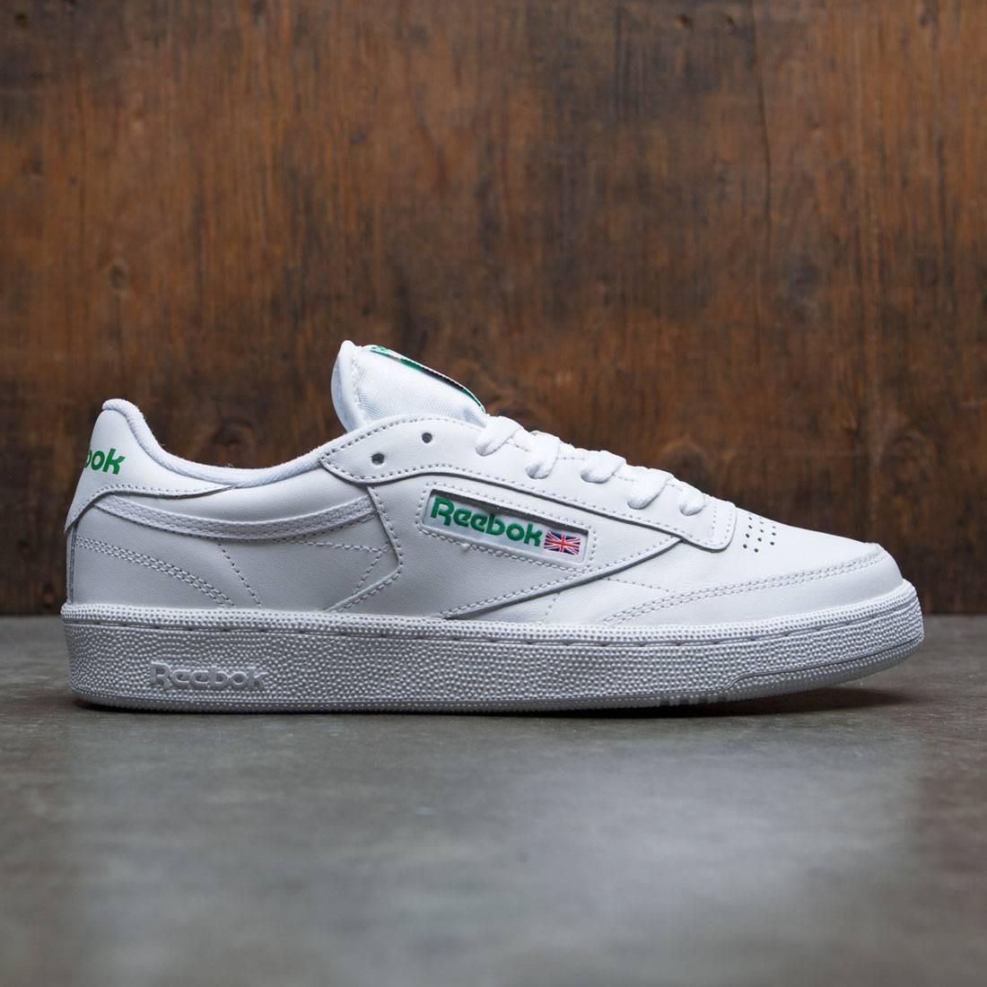 4821de63e61 Reebok Men Club C 85 white green