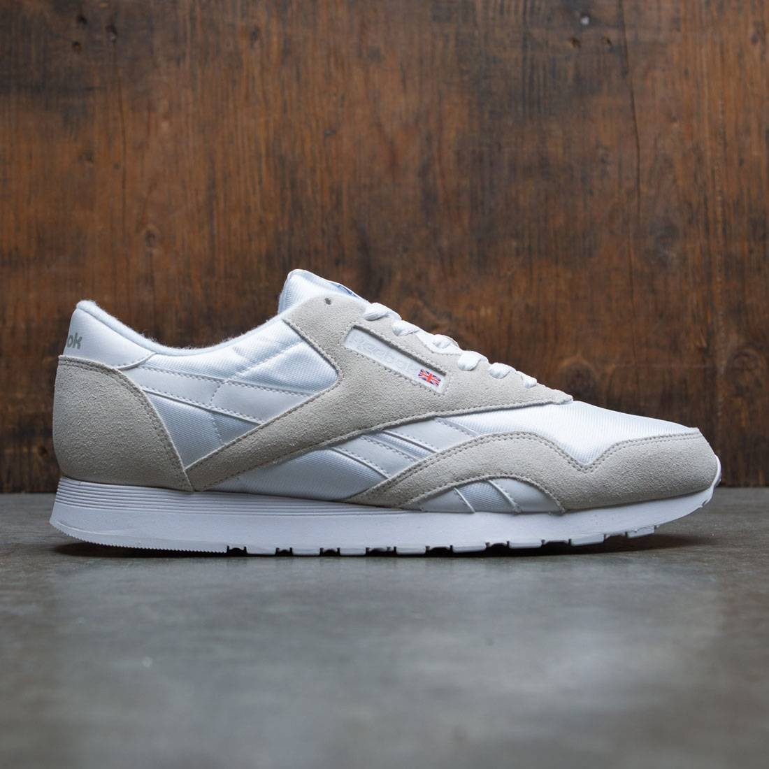 innovative design 2019 discount sale attractive designs Reebok Men Classic Nylon (white / light grey)