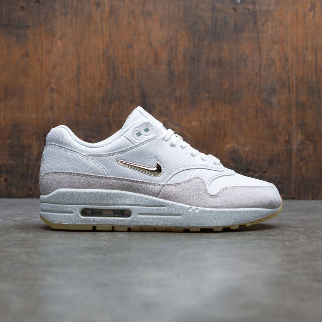 promo code 8cffc b35d7 ... sweden nike women air max 1 premium sc summit white mtlc gold star light  bone 17aea