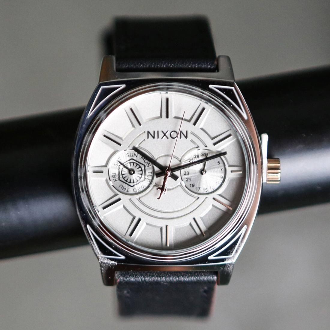 Nixon x Star Wars Time Teller Deluxe Watch - Captain Phasma (silver)
