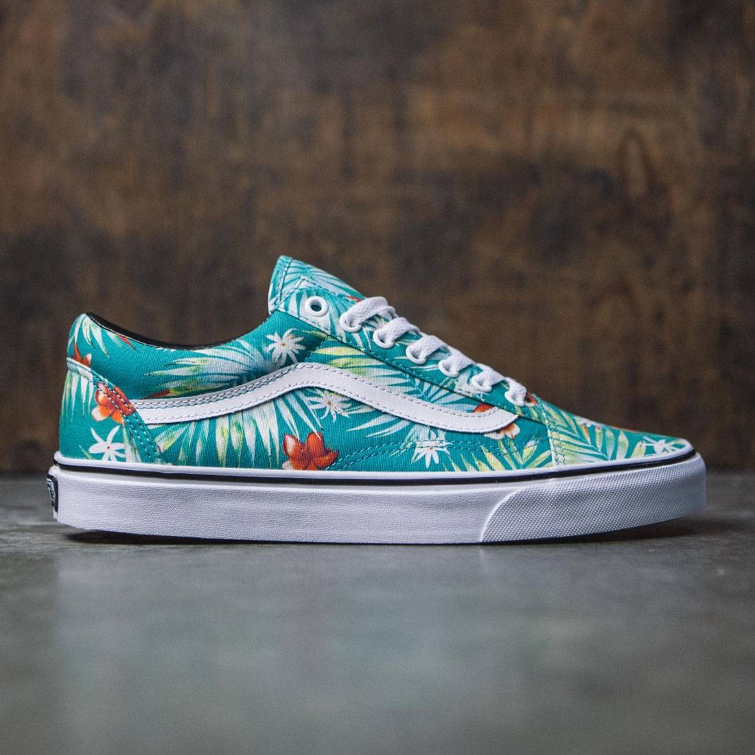 Vans Men Old Skool Decay Palms (white true baltic)
