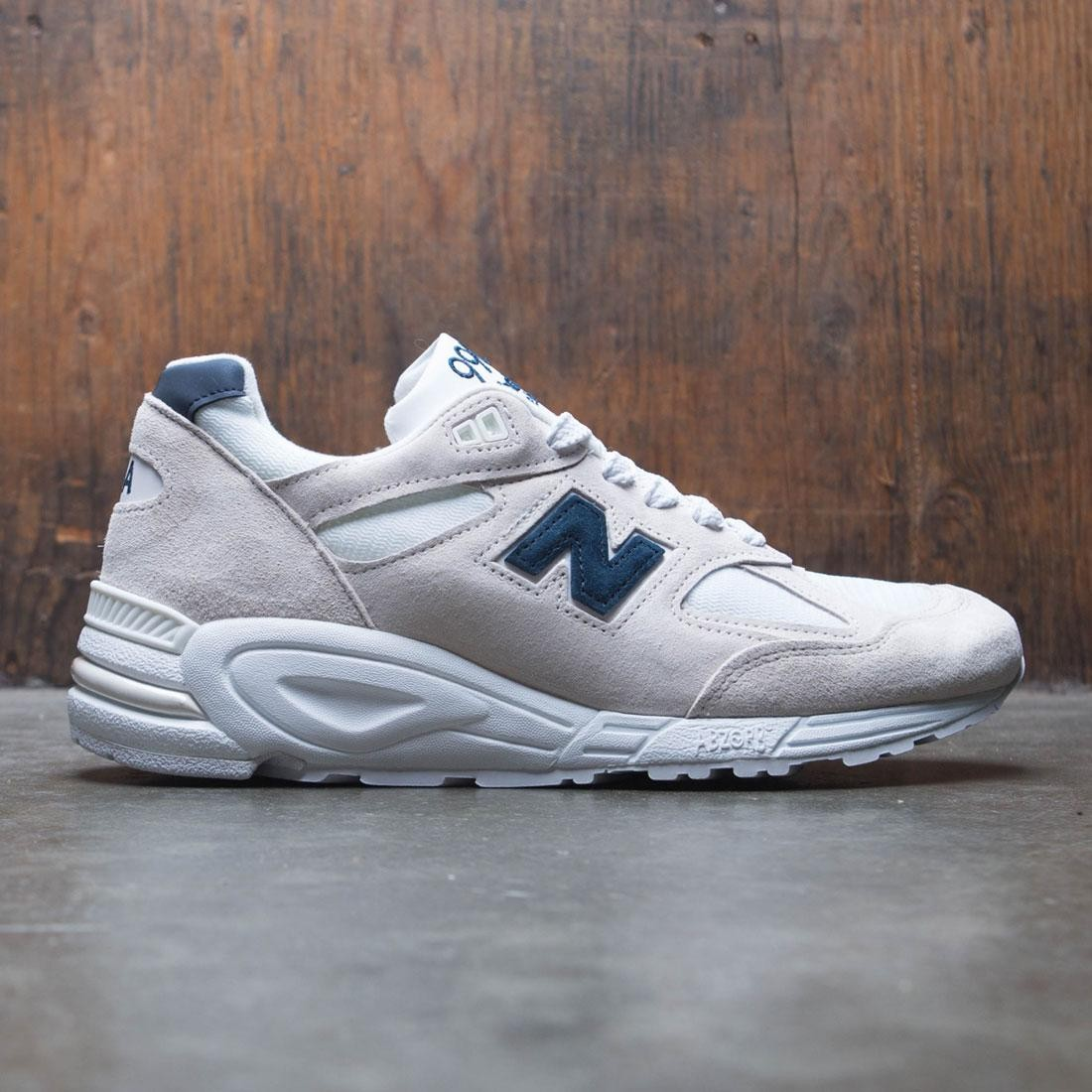 New Balance Men 990v2  M990WE2 - Made In USA (beige / angora / white / black)
