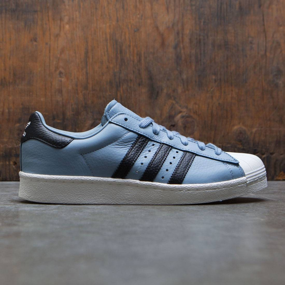 fce106bc25c5 Adidas Men Superstar Boost blue tactile blue core black footwear white