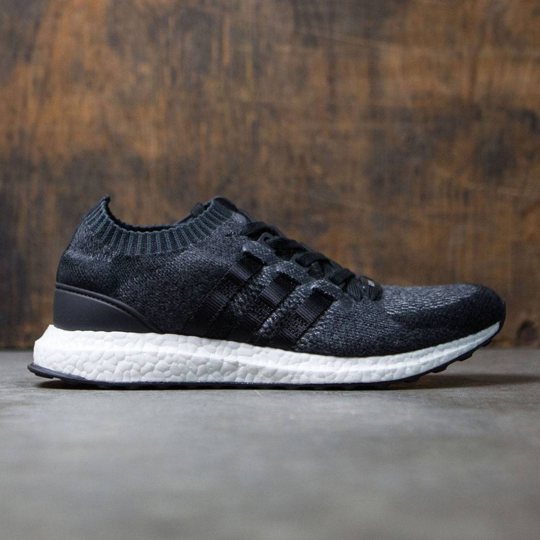 the latest 4c769 3dcb9 Adidas Men EQT Support Ultra Primeknit (black / core black / footwear white)