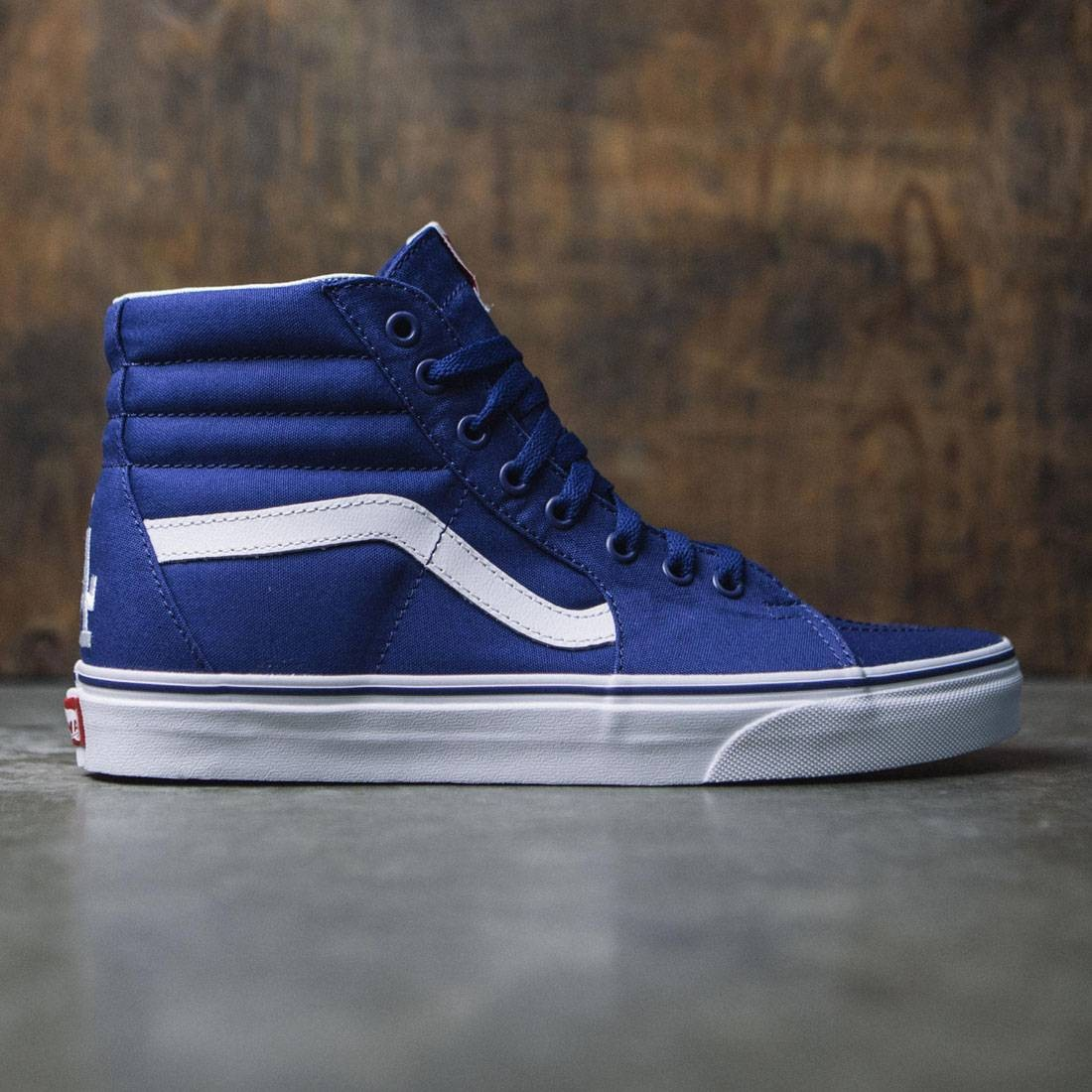16058c4bd9b Vans x MLB Los Angeles Dodgers Men Sk8-Hi - Dodgers white blue