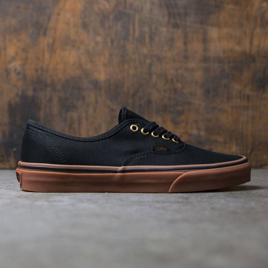 Vans Men Authentic black rubber b647015e1e