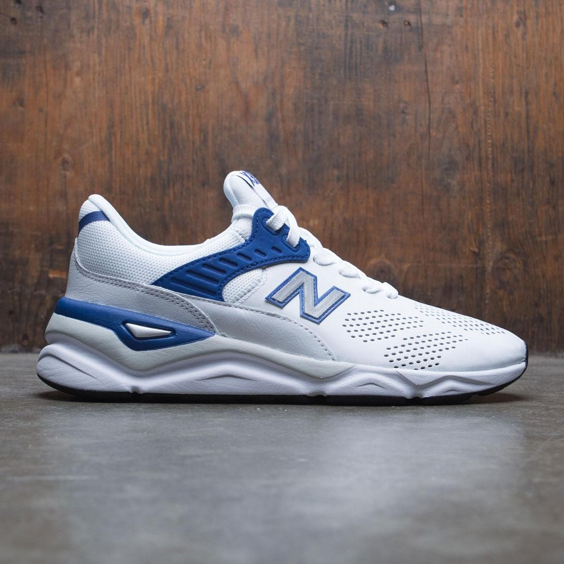 check out d18fc 46760 New Balance Men X-90 MSX90HTA white navy