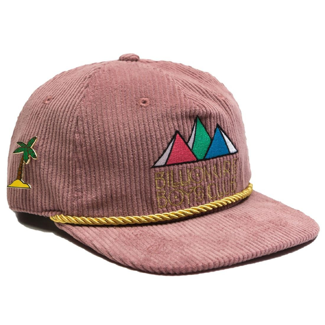 Billionaire Boys Club BB Pyramids Snapback Cap purple bordeax lavender 2892a306c16