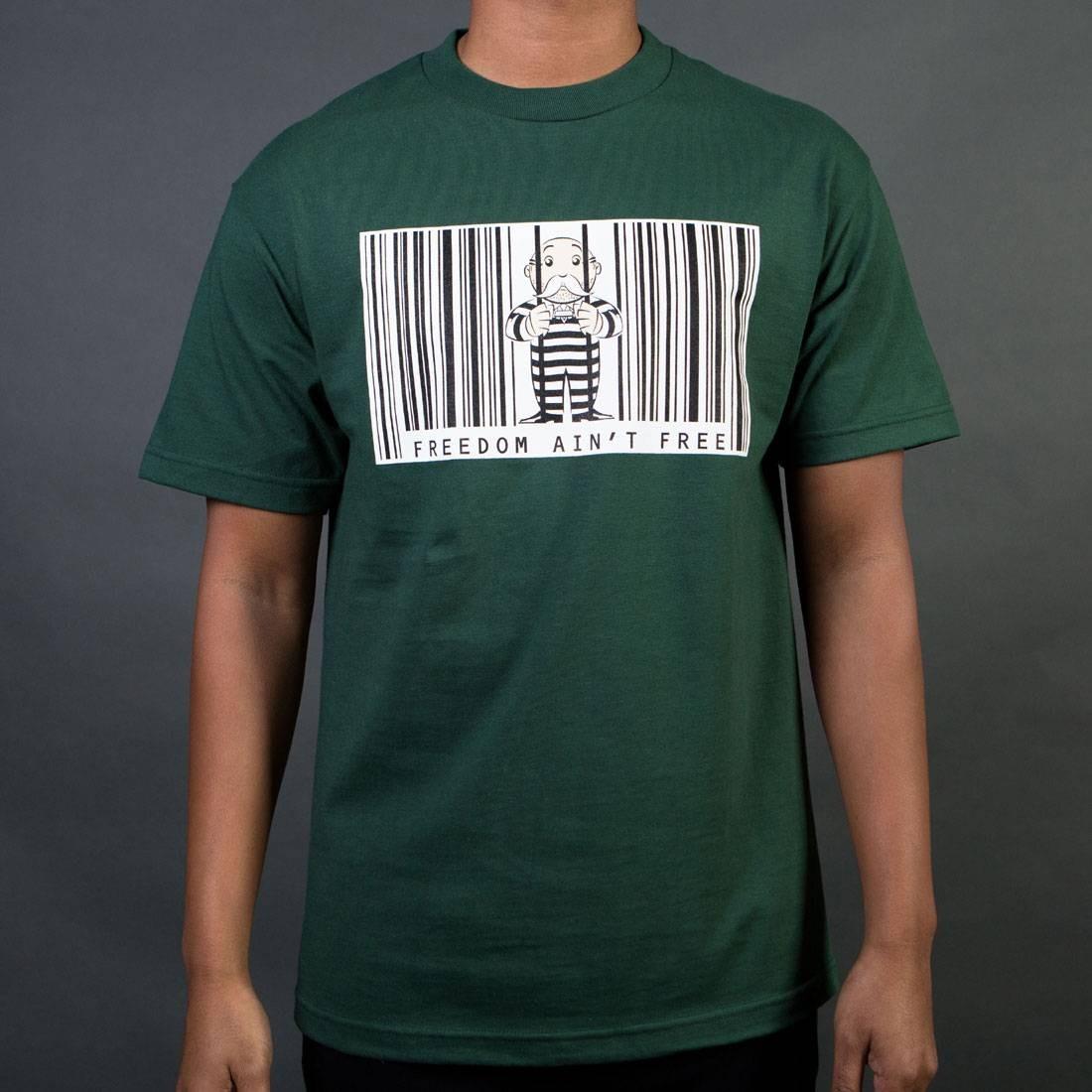 BAIT x Hasbro Monopoly Men Freedom Ain't Free Tee (green)