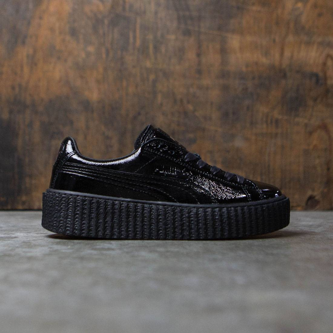 Puma x Fenty By Rihanna Women Creeper Cracked Leather (black)