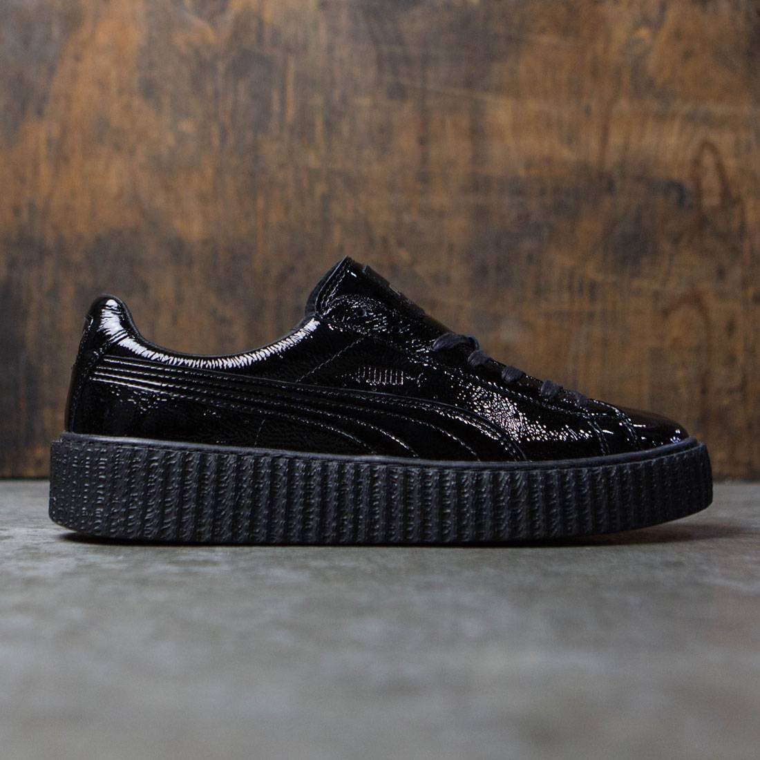 new style 022be aec99 Puma x Fenty By Rihanna Men Creeper - Cracked Leather (black)