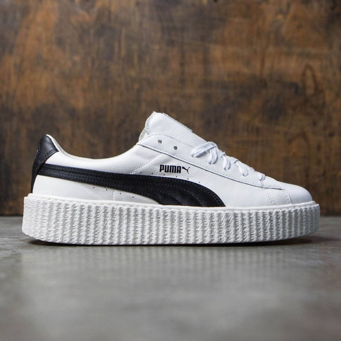 hot sale online 50033 d2526 Puma x Fenty By Rihanna Men Creeper - Cracked Leather (white)