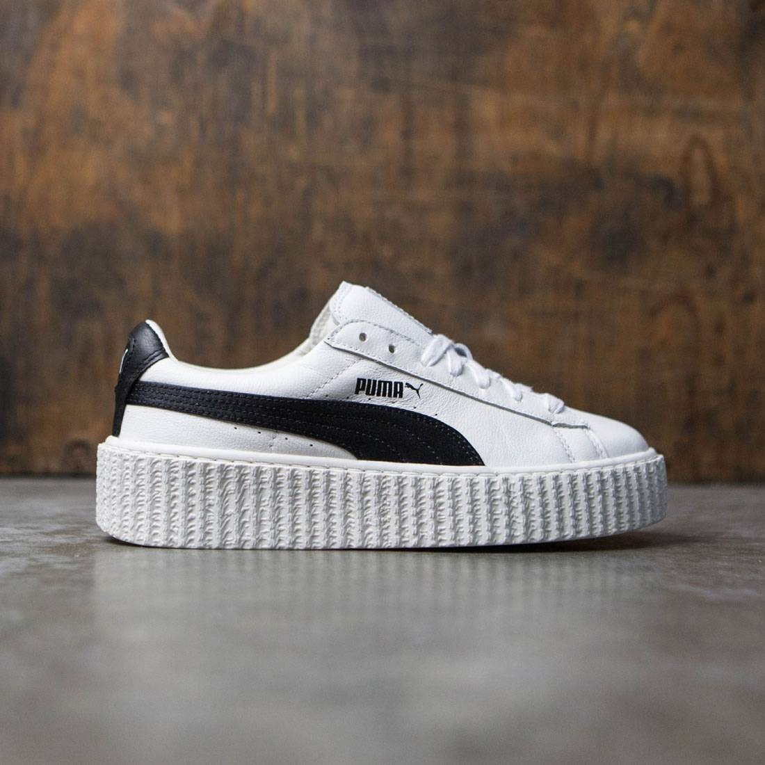 sale retailer 4b377 acfd8 Puma x Fenty By Rihanna Women Creeper - Cracked Leather (white)