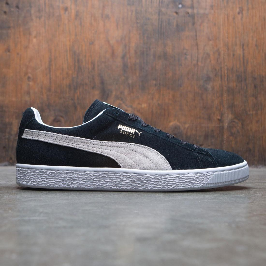 new products f25be aee5a Puma Men Suede Classic Eco (black / white)