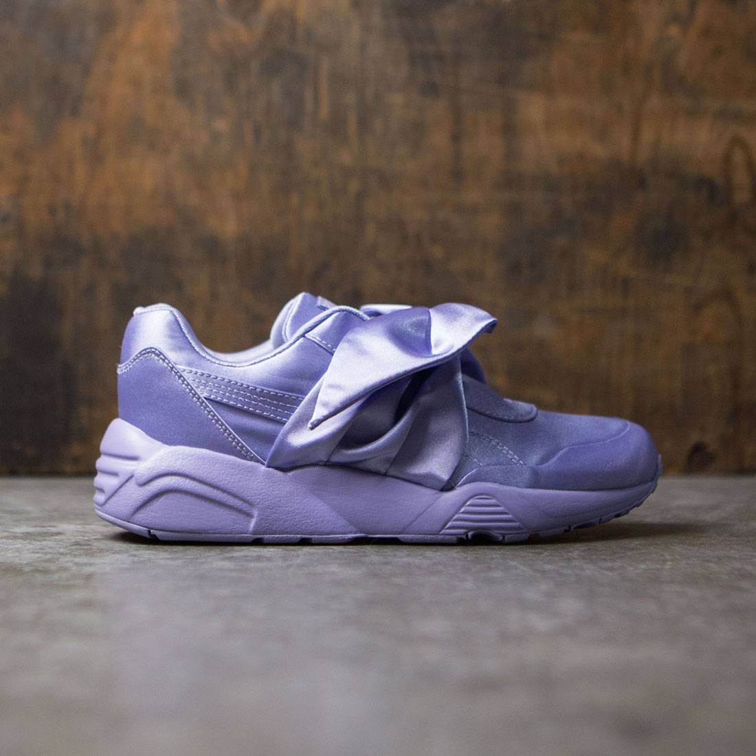 b3246e09f158 Puma x Fenty By Rihanna Women Bow Sneaker purple sweet lavender
