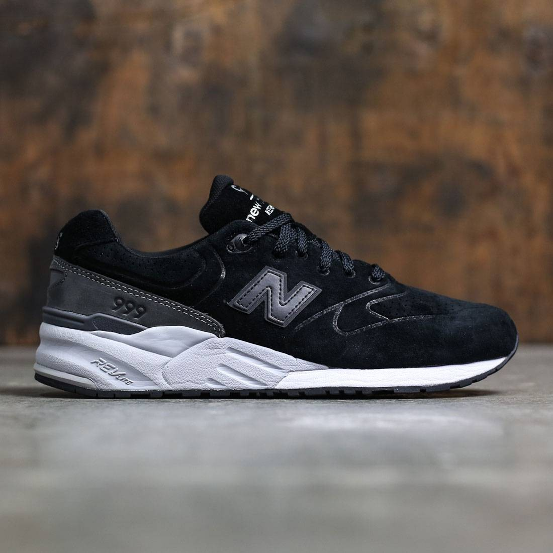 newest collection fb7bf f4c42 New Balance Men 999 Re-Engineered Suede MRL999BA (black / grey)
