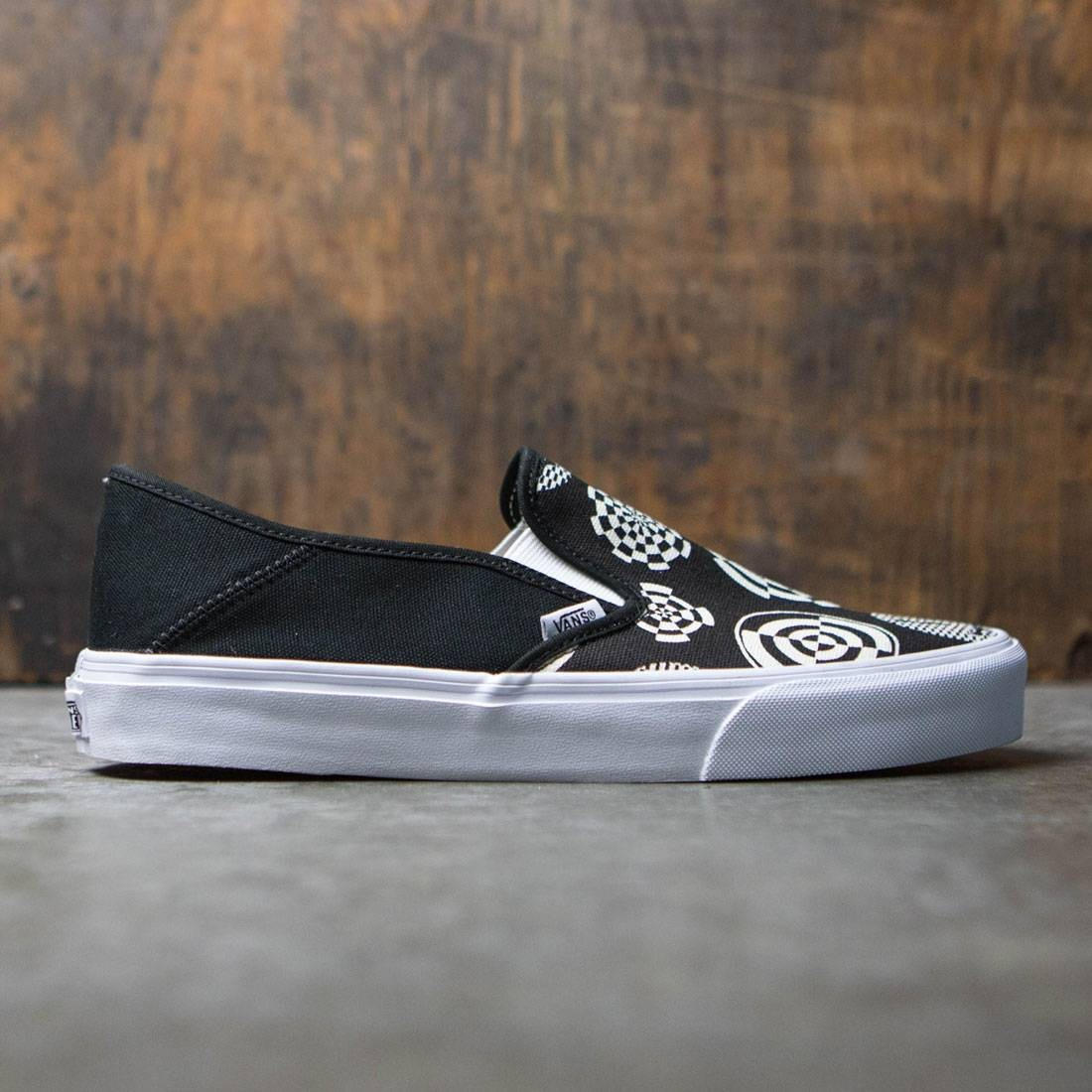 Vans Men Slip-On SF - Wade Goodall black white