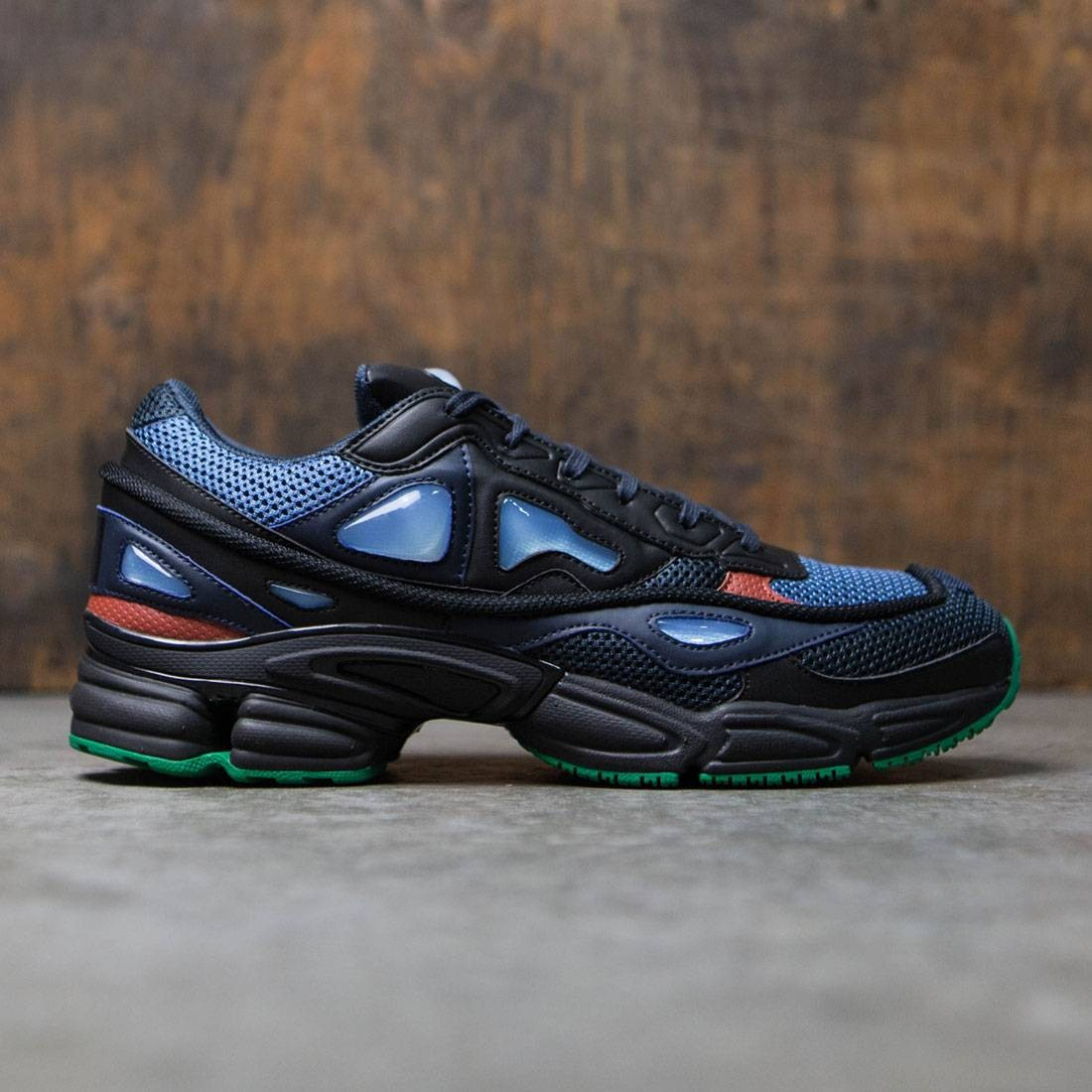 Adidas x Raf Simons Men Ozweego 2 (navy / night marine / core black / light blue)