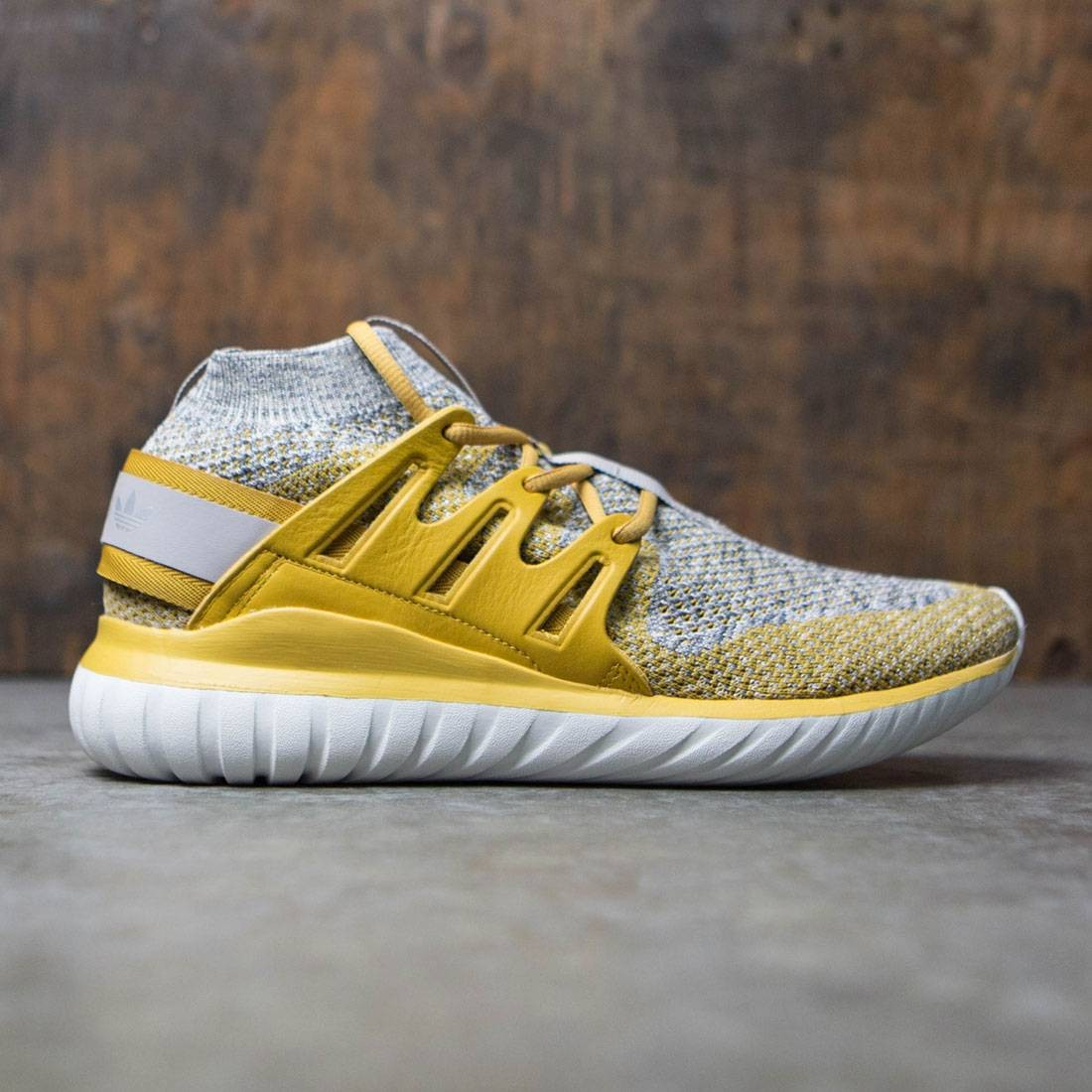 Adidas Men Tubular Nova Primeknit (yellow / st nomad yellow / granite)