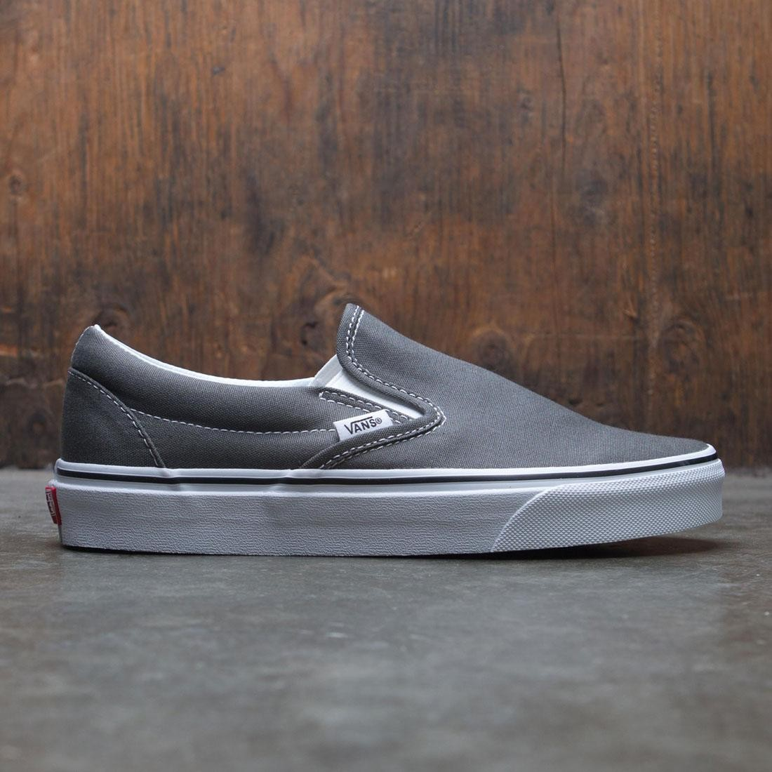 Vans Men Classic Slip-On (gray / charcoal)