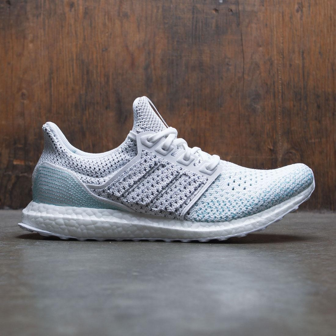 f9d0296ec Adidas Men UltraBOOST Parley LTD white footwear white blue spirit