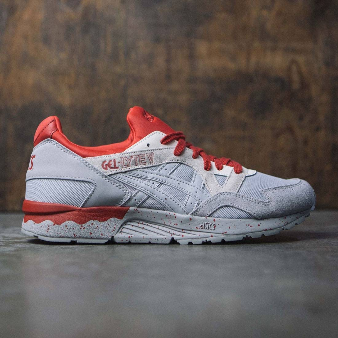 quality design c4931 f595d Asics Tiger Men Gel-Lyte V (gray / mid grey)