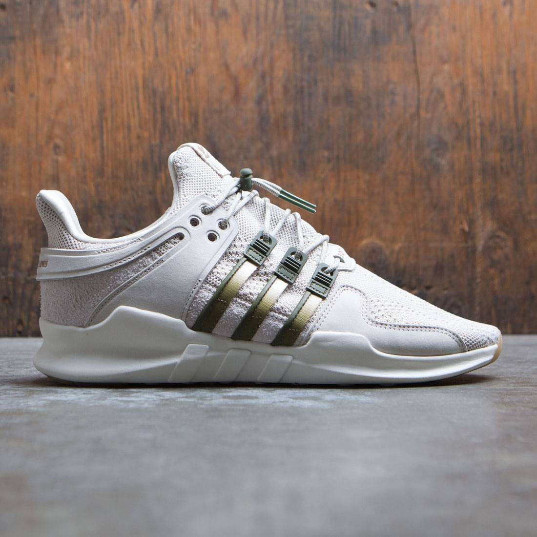 7121bdefdf87 Adidas Consortium x Highs And Lows Men EQT Support ADV brown linen carboard