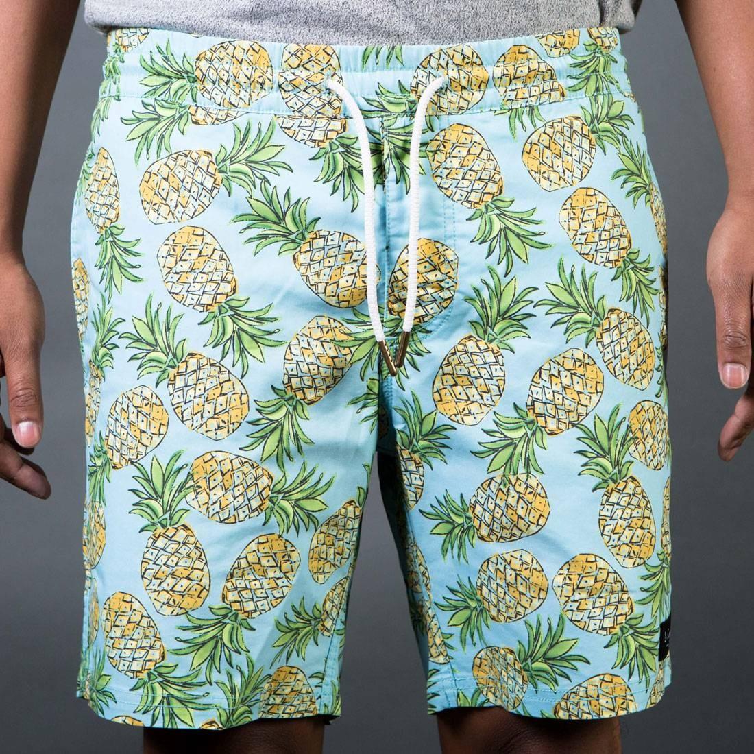 Barney Cools Men Amphibious Shorts (blue / green / pineapple)
