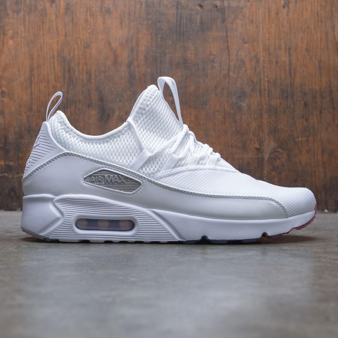f8d4fe60d97 nike men air max 90 ez white metallic silver photo blue