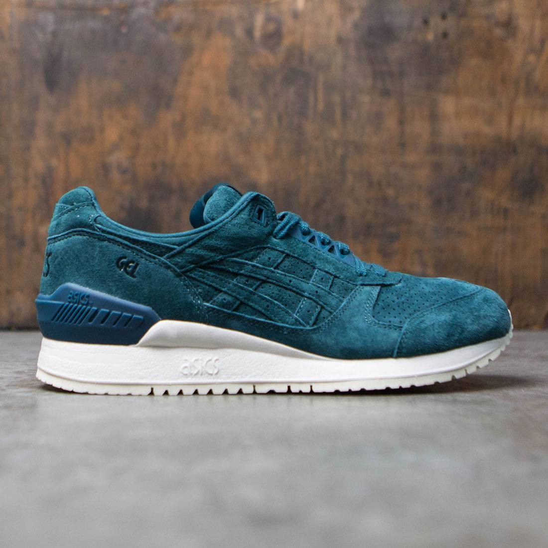d0b52380ea6e Asics Tiger Men Gel-Respector teal deep teal