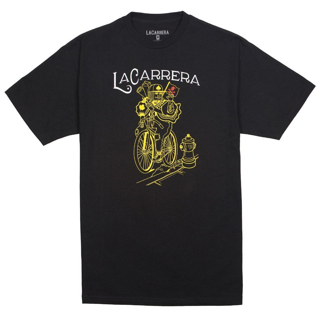 La Carrera Men The Pirate King Tee (black / gold)