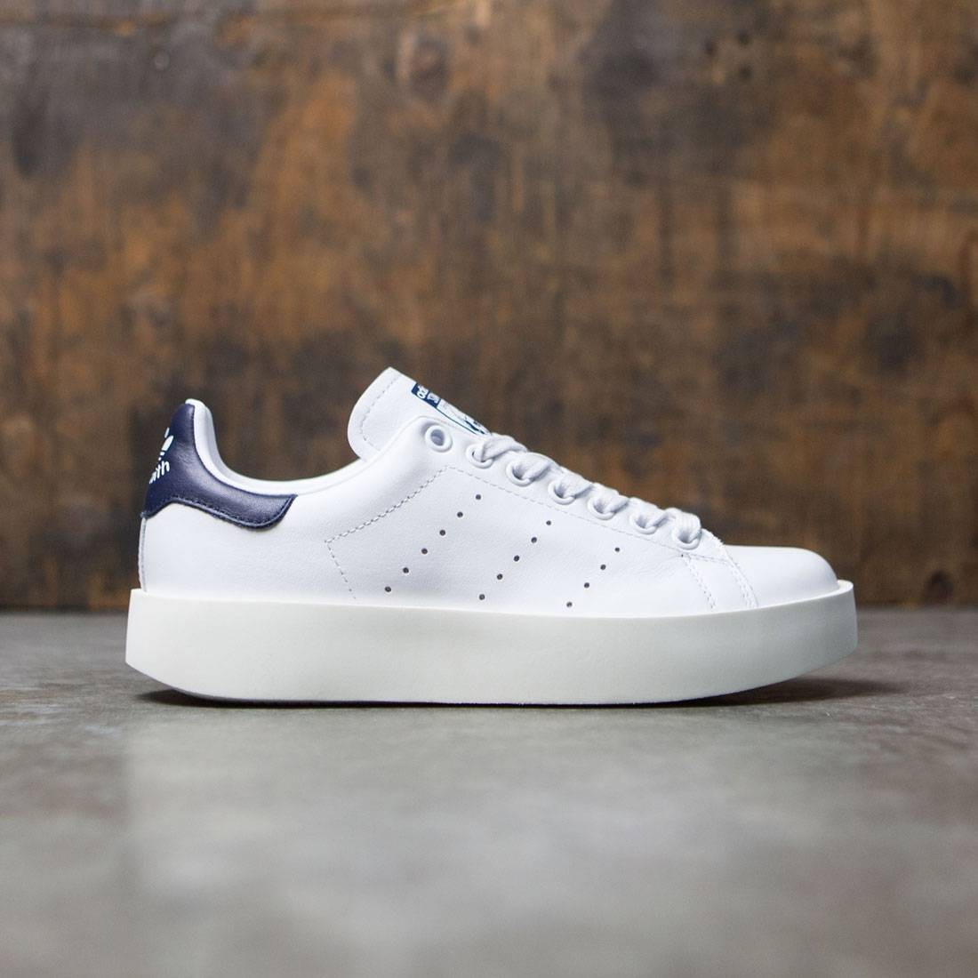 Adidas Women Stan Smith Bold (black / core black / collegiate navy)