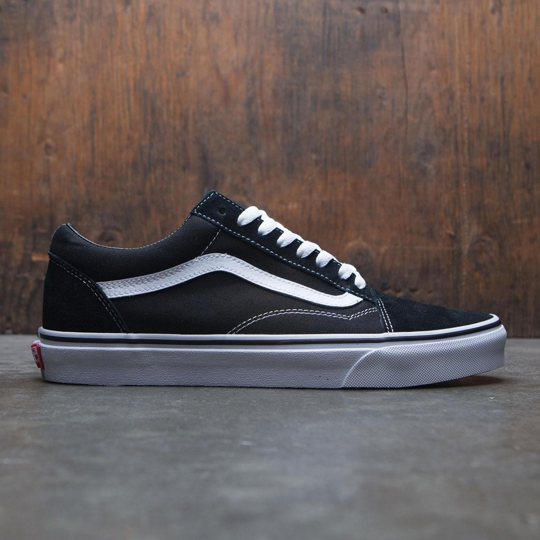 novel style choose clearance women Vans Men Old Skool (black / white)