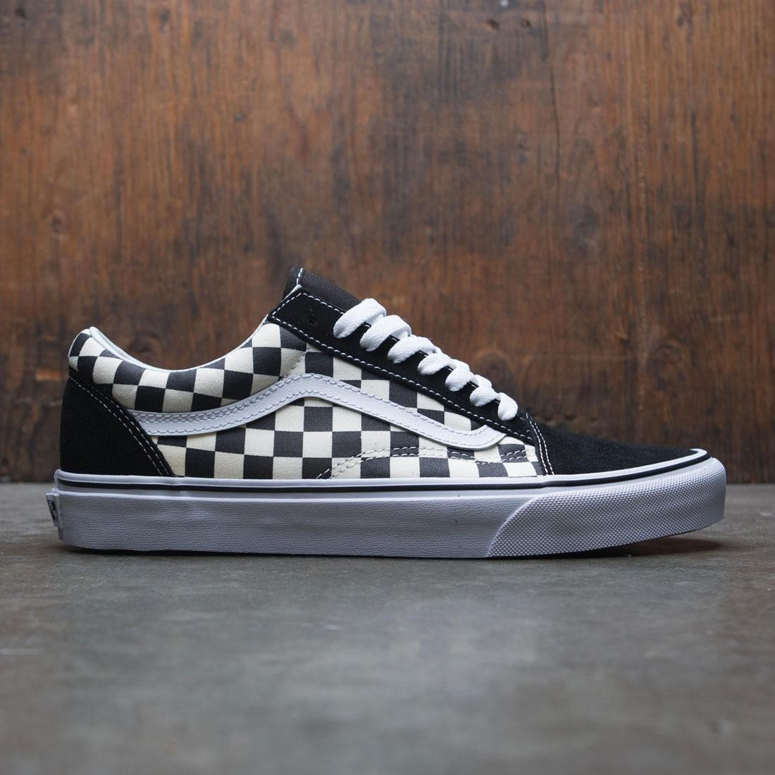 87e22e33eee8 Vans Men Old Skool - Primary Checkerboard black white