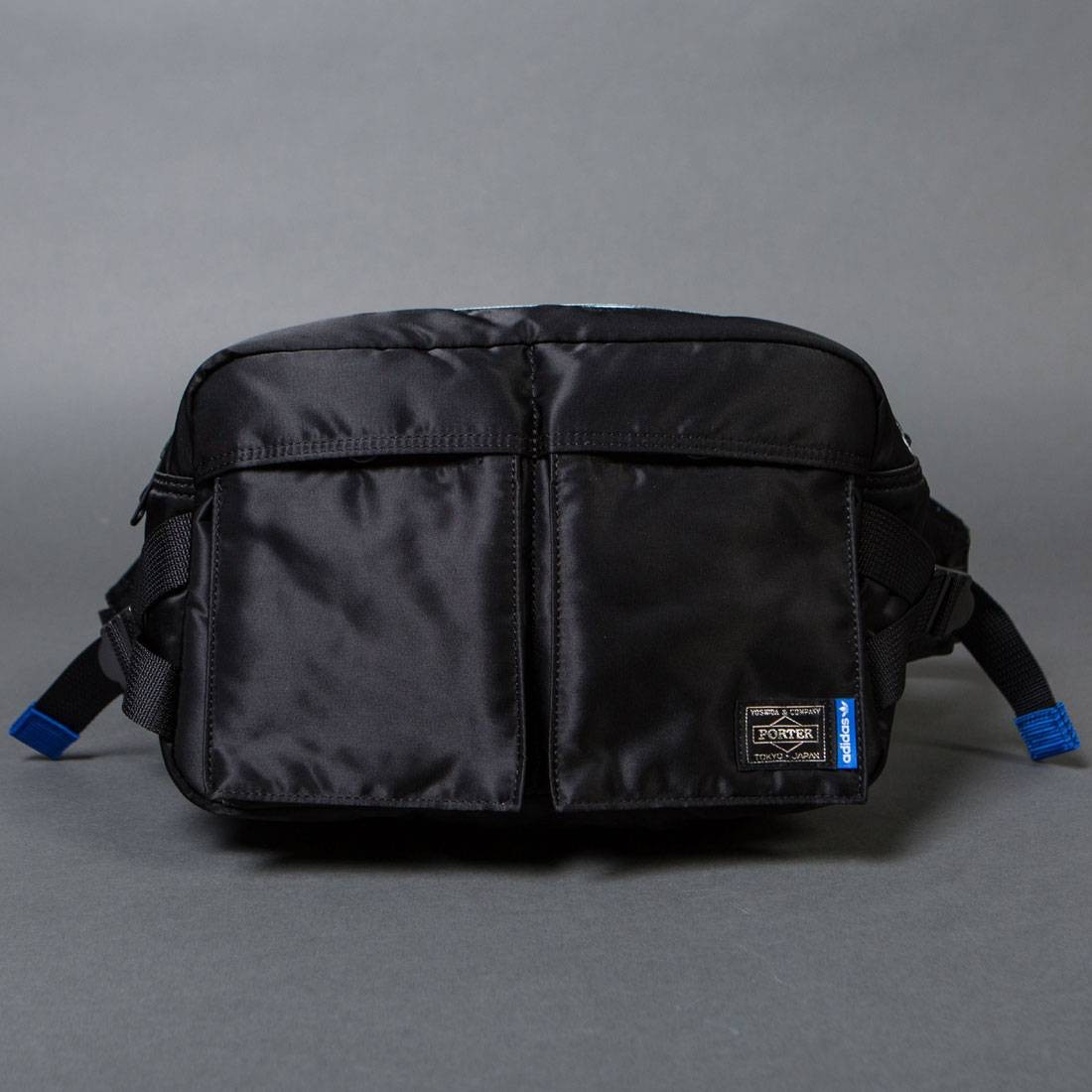 e5beaeb1ee Adidas x Porter 2 Way Waist Shoulder Bag black