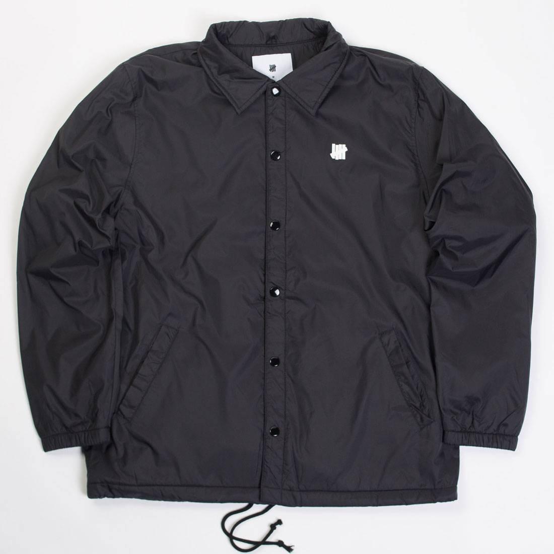 Undefeated Men 5 Strike Coaches Jacket (black)