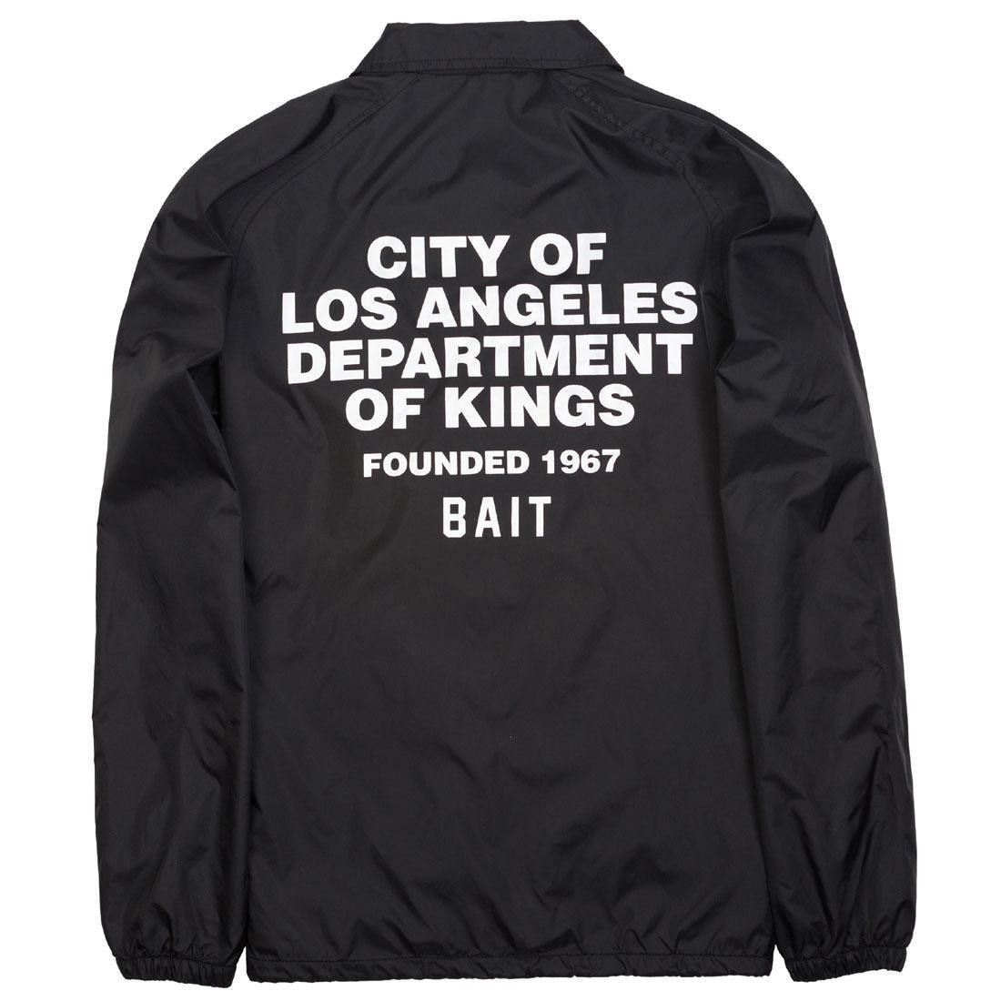 BAIT Men Department Coach Jacket (black)