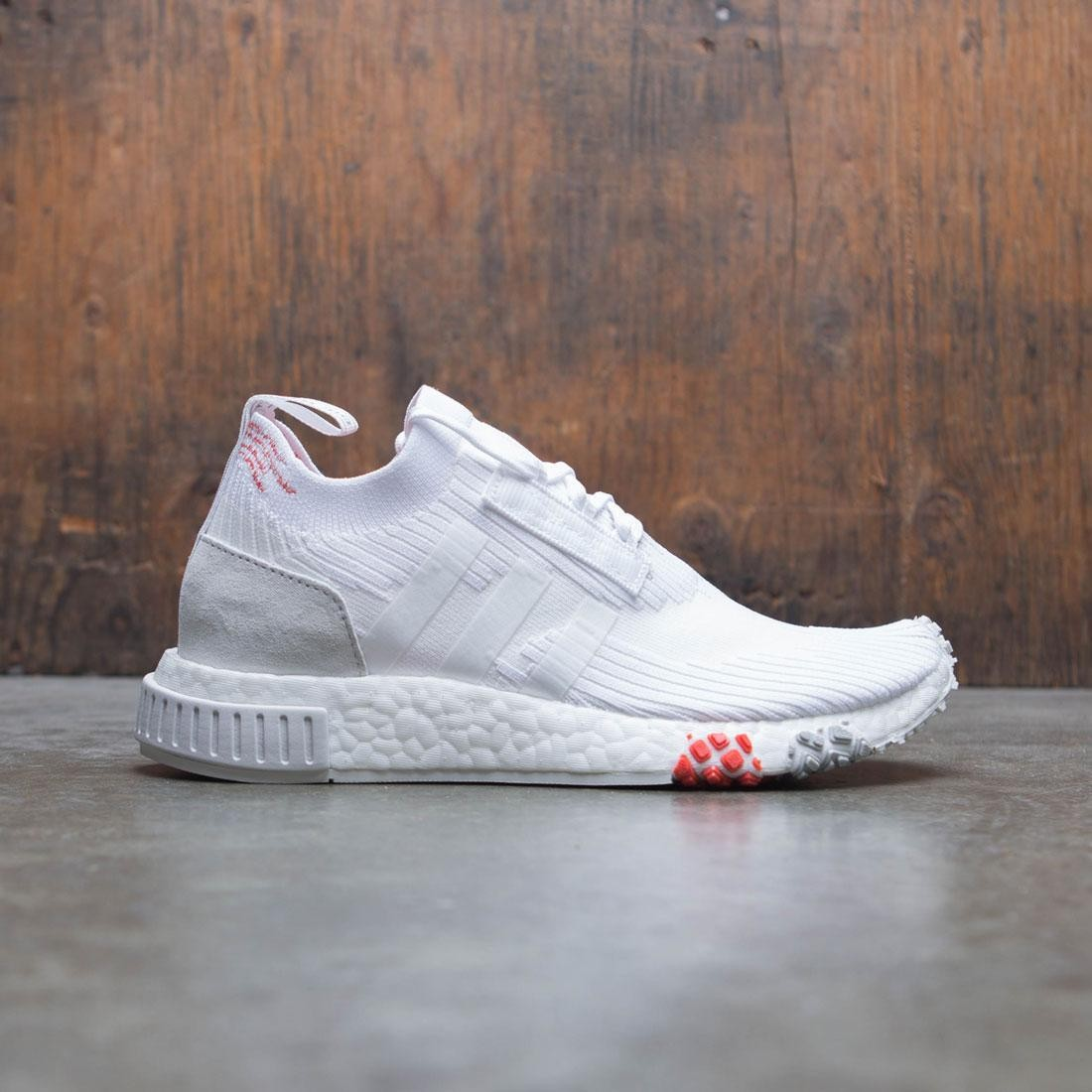 photos officielles 4b86a 03644 Adidas Women NMD Racer PK W (white / footwear white / trace scarlet)