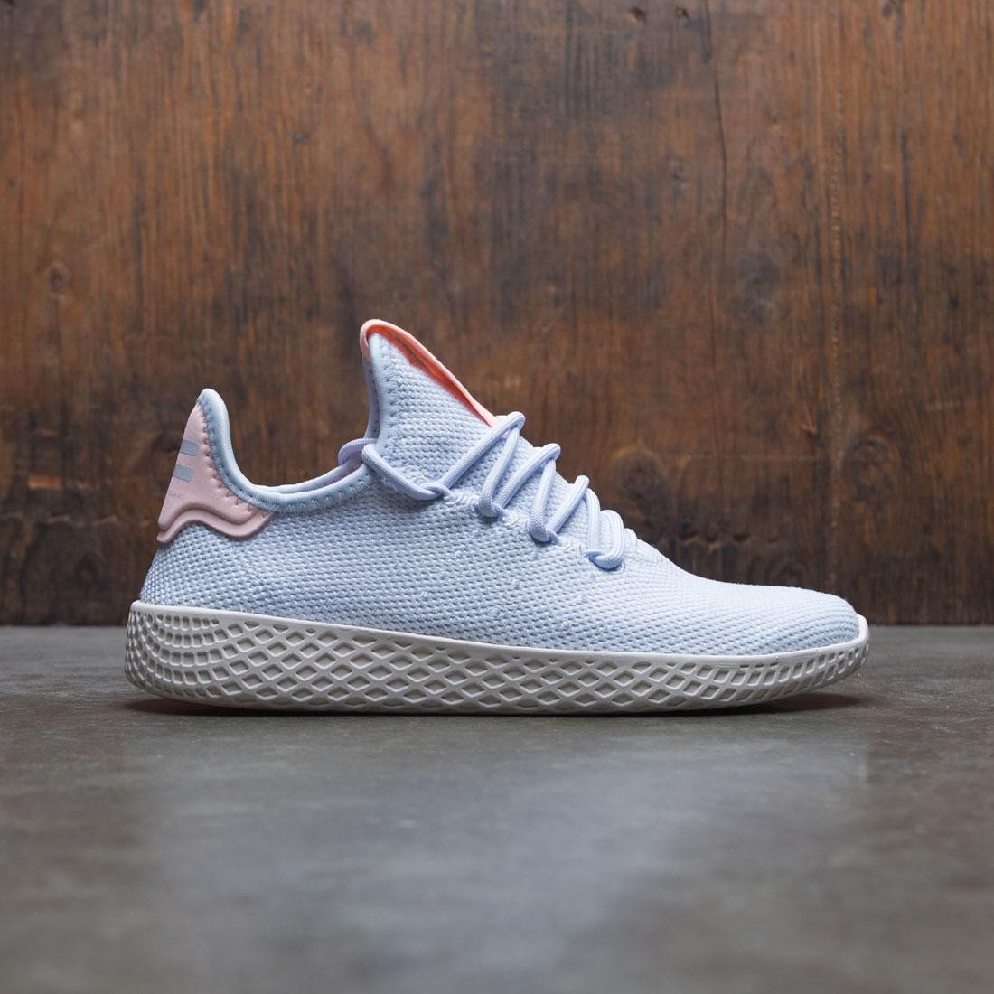 9aae0905f Adidas Women Pharrell Williams Tennis HU W blue aero blue chalk white