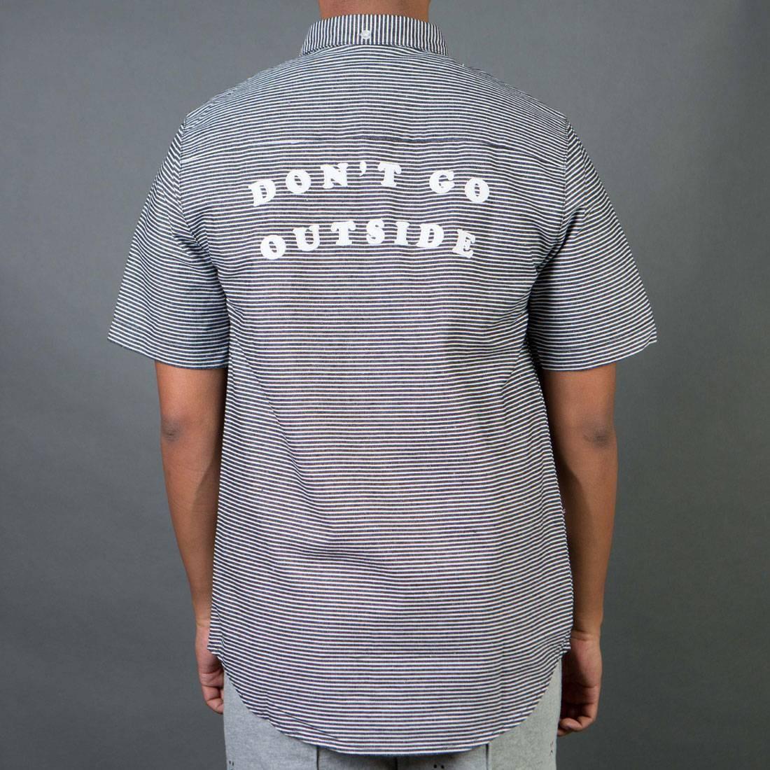 Lazy Oaf Men Don't Go Outside Shirt (black)