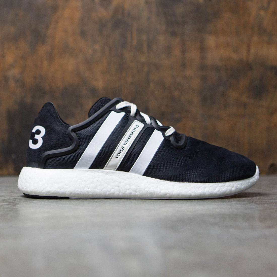 6643b0b212077 Adidas Y-3 Men Yohji Run black footwear white core black
