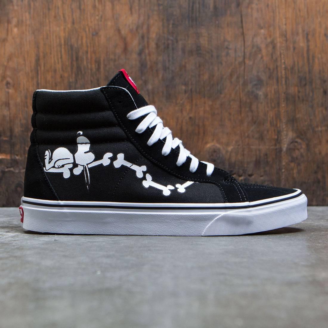 39677d7c84a9 Vans x Peanuts Men SK8-Hi Reissue - Snoopy Bones black