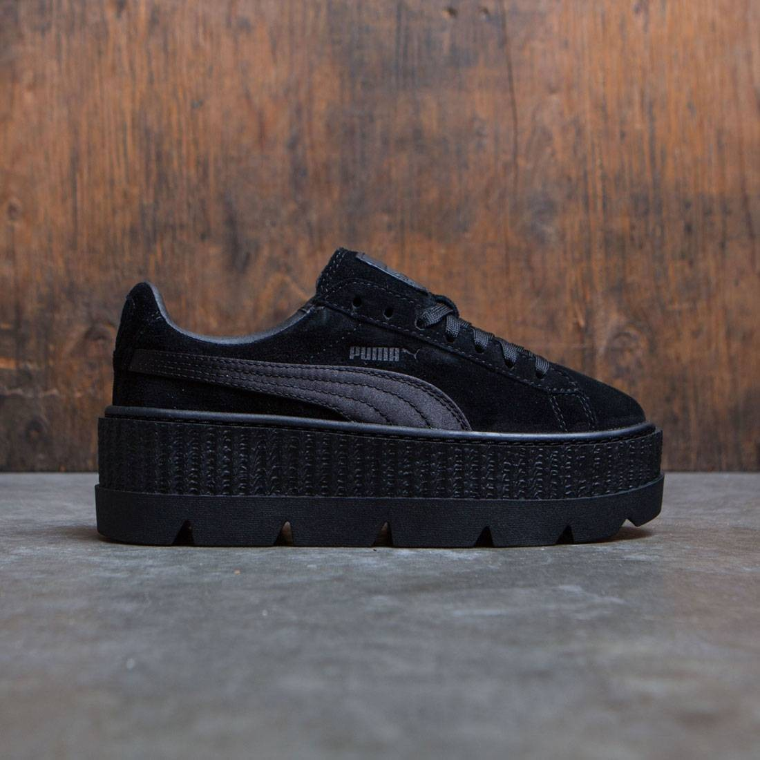 Puma x Fenty By Rihanna Women Cleated Creeper Suede black puma black d4fe7c80e