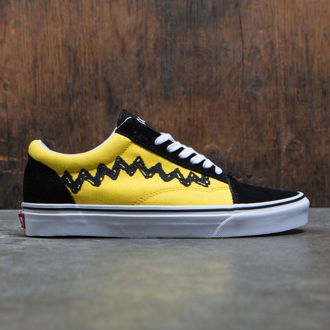 vans snoopy yellow