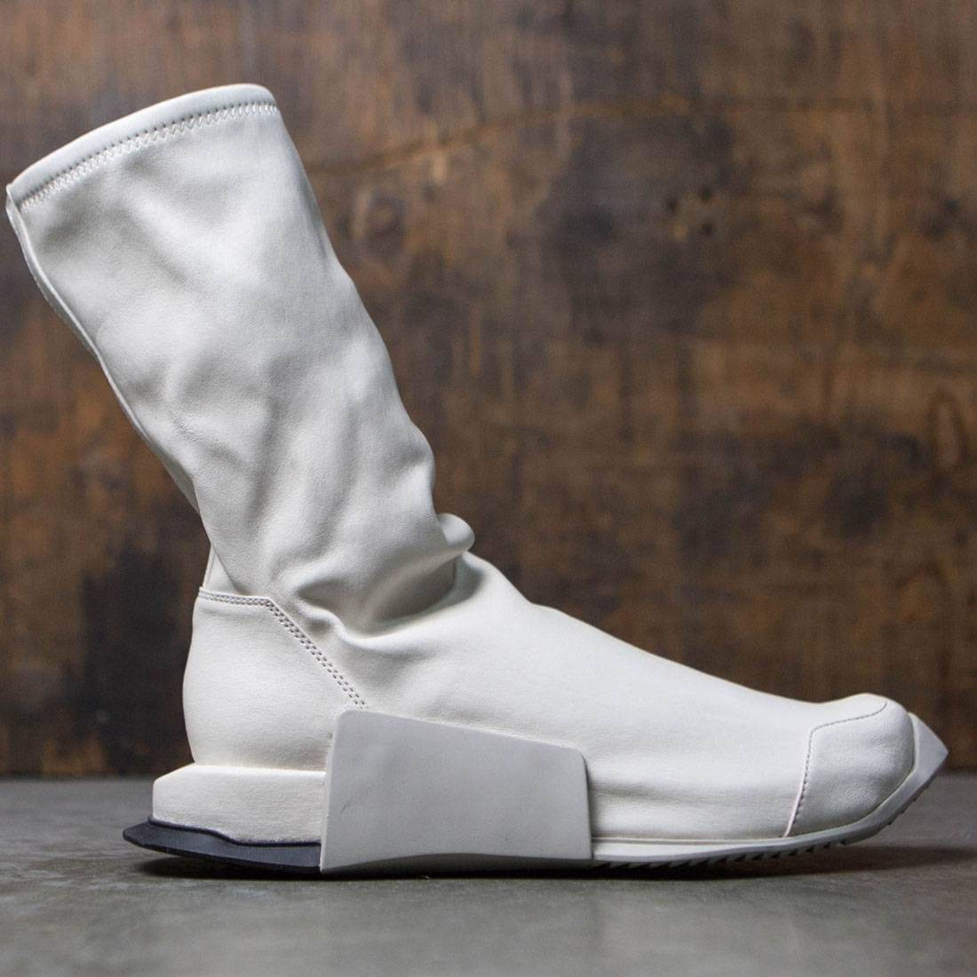 a3c82bc0c Adidas x Rick Owens Men Level Runner High (white / ro white / ro dinge / ro  black)