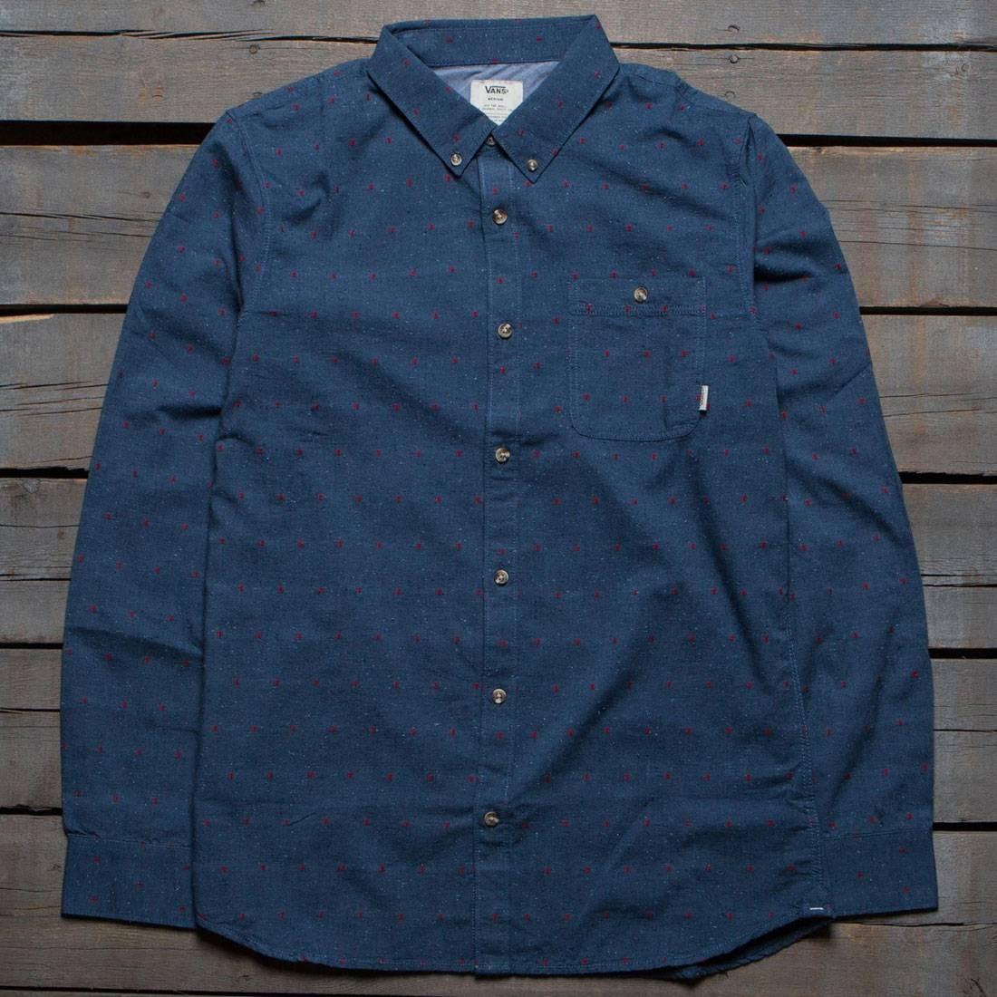 Vans Men Edgewood Woven Shirt (blue)