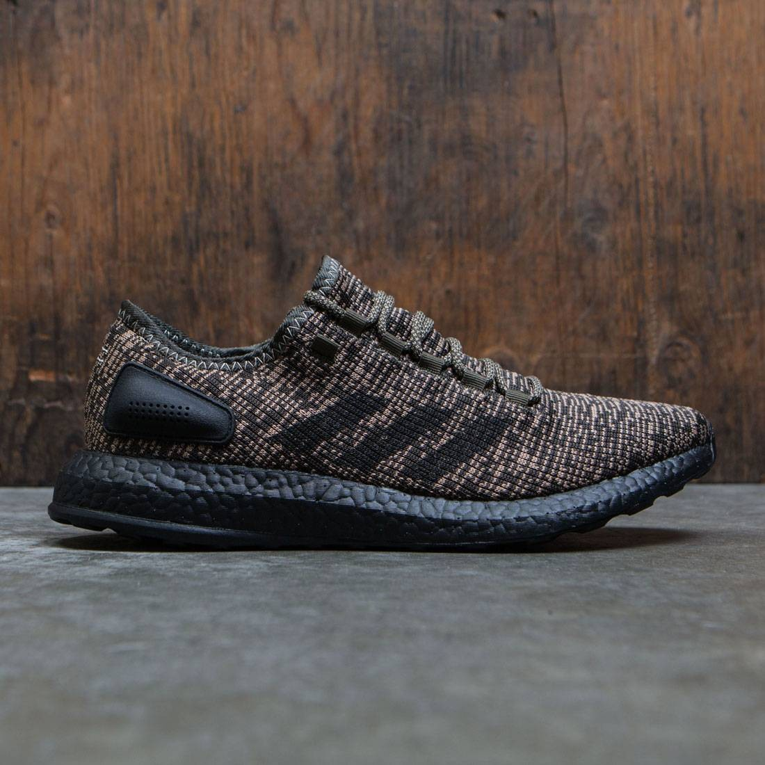 da0ffd394 Adidas Men PureBOOST brown night cargo core black
