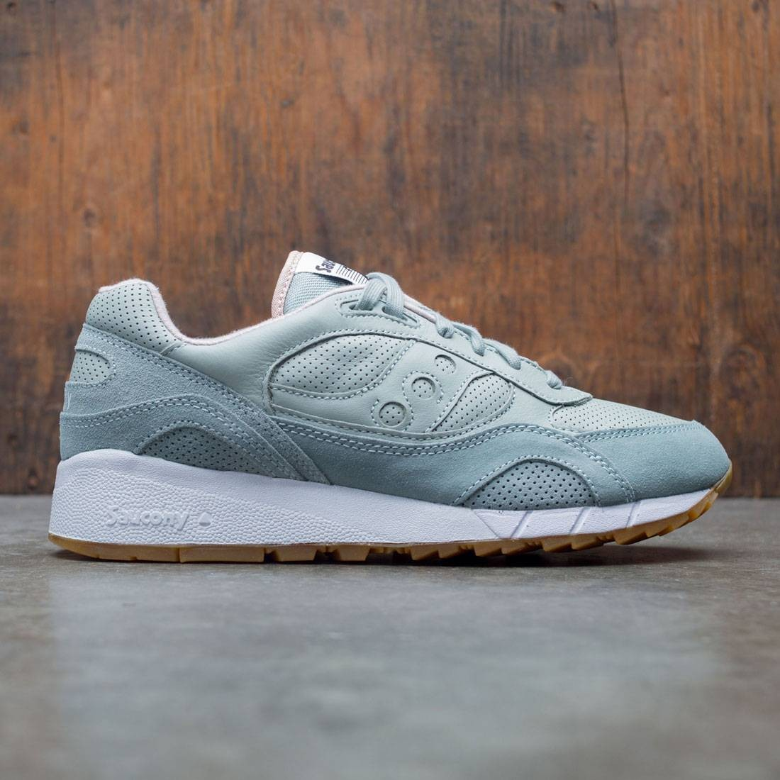 c64bf1eef5d2 Saucony Men Shadow 6000 HT blue aqua gray
