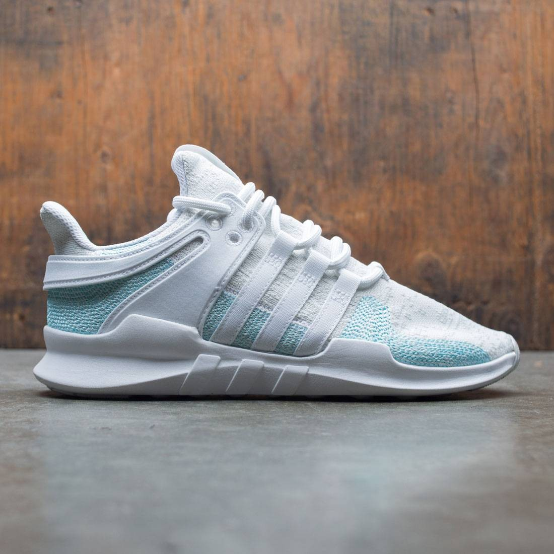 outlet store e5fe7 c134c Adidas Men EQT Support ADV CK Parley white blue spirit off w