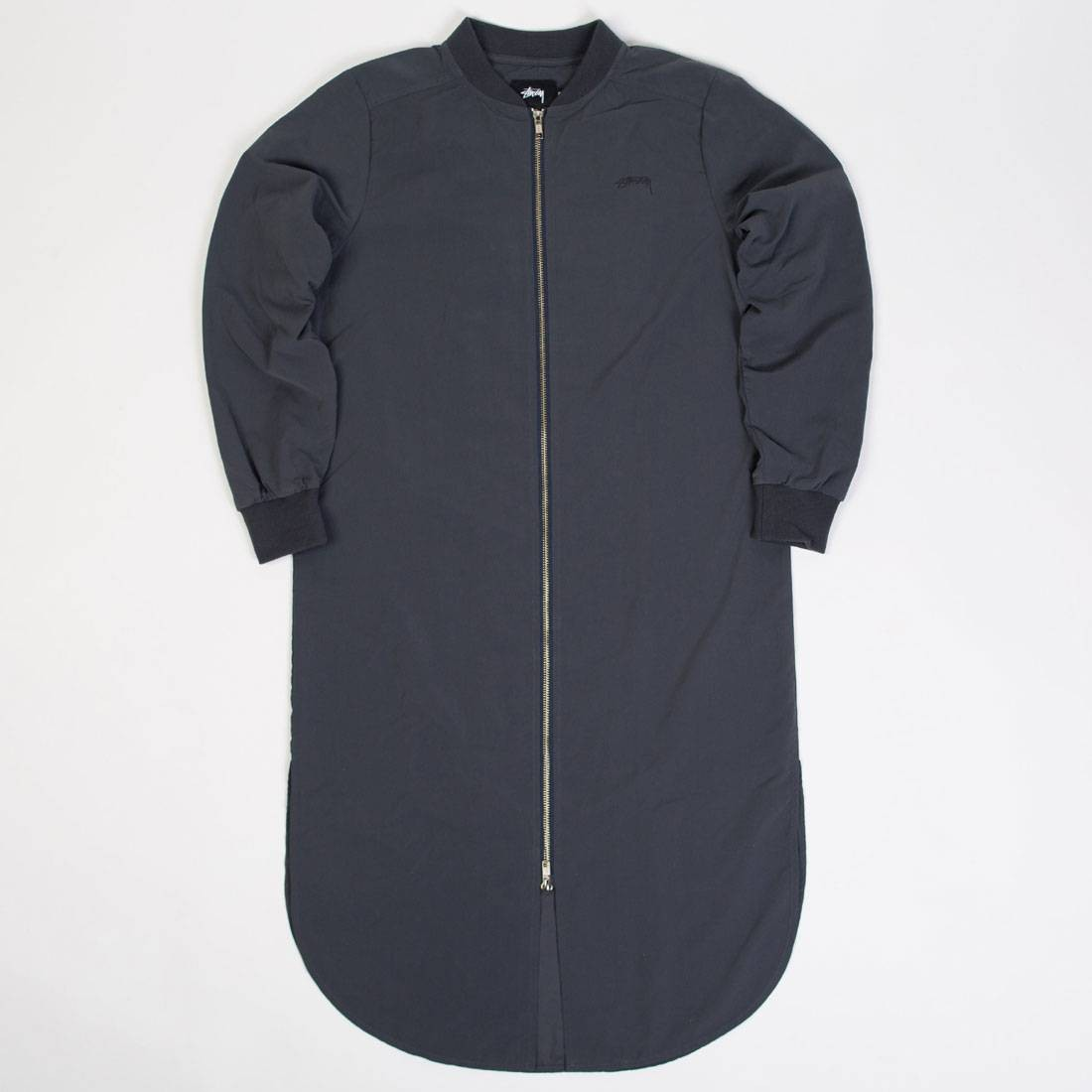 Stussy Women Tonic Zip Dress (navy)